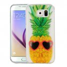 For Galaxy S6 Pineapple Pattern IMD Workmanship Soft TPU Protective Case