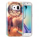 For Galaxy S6 IMD Dreamcatcher Pattern Blu-ray Soft TPU Protective Case