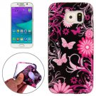 For Galaxy S6 Butterfly Pattern TPU Protective Case