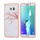 For Galaxy S6 Edge+ Cherry Blossom Flower Pattern Plastic Protective Case 7