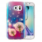 For Galaxy S6 Edge+ IMD Dandelions Pattern Blu-ray Soft TPU Protective Case