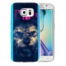 For Galaxy S6 Edge+ IMD Lion King Pattern Blu-ray Soft TPU Protective Case