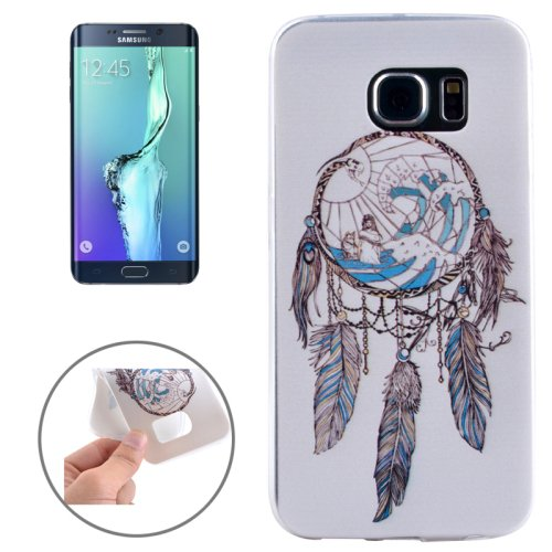 For Galaxy S6 Edge+ Ultrathin Windbell Pattern TPU Protective Case