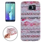 For Galaxy S6 Edge+ Ultrathin Stripes Pattern TPU Protective Case