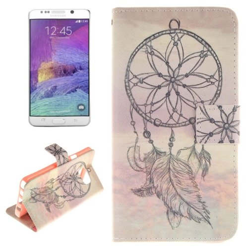 For Galaxy Note 5 Sketch 2 side Leather Case with Card Slots, Holder & Wallet