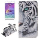 For Galaxy Note 5 Tiger 2 side Leather Case with Card Slots, Holder & Wallet