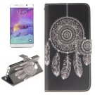 For Galaxy Note 5 Wind Bell 2 side Leather Case with Card Slots, Holder & Wallet