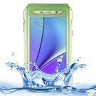 For Galaxy Note 5 Green Riyo IP68 Waterproof Shockproof Dustproof Case..