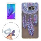 For Galaxy Note 5 Windbell Pattern Soft TPU Protective Back Cover Case