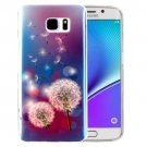 For Galaxy Note 5 IMD Dandelions Pattern Blu-ray Soft TPU Protective Case