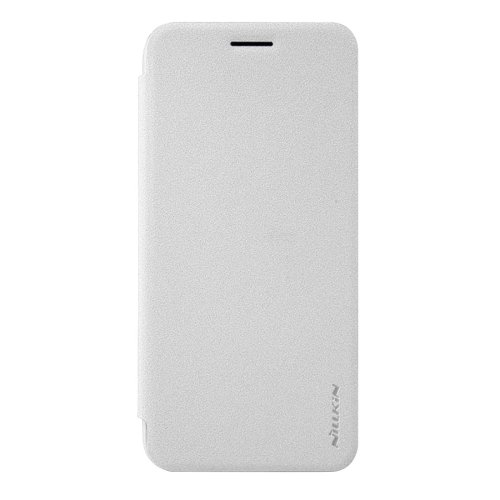 For Google Pixel XL White NILLKIN SPARKLE Frosted Smartcover Leather Case