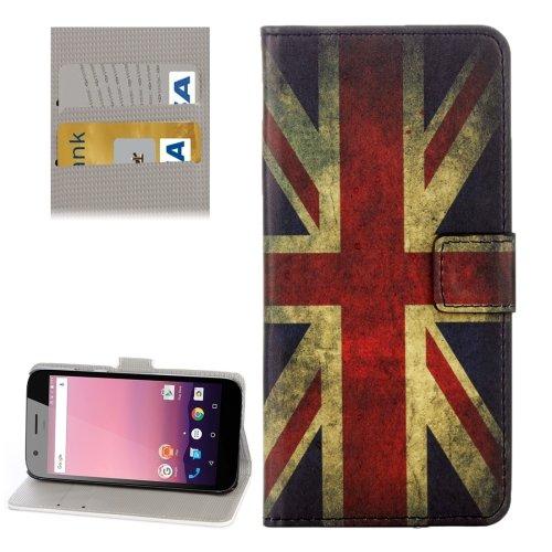 For Google Pixel XL UK Flag Pattern Leather Case with Holder, Card Slots & Wallet