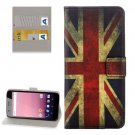 For Google Pixel XL UK Flag Pattern Leather Case with Holder, Card Slots & Wallet