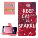 For Google Pixel XL Sparkle Pattern Leather Case with Holder, Card Slots & Wallet