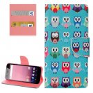 For Google Pixel XL Owls Pattern Leather Case with Holder, Card Slots & Wallet