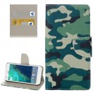 For Google Pixel Camouflage Pattern Leather Case with Holder, Card Slots & Wallet