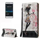 For Huawei P9 Lite 3D Fairy Leather Case with Holder, Card Slots & Lanyard