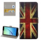 For Huawei NovaI UK Flag Pattern Leather Case with Holder, Card Slots & Wallet