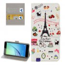 For Huawei NovaI Symbols Pattern Leather Case with Holder, Card Slots & Wallet