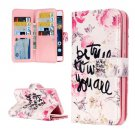 For Huawei P8 Lite True Pattern Leather Case with 9 Card Slots, Wallet & Holder