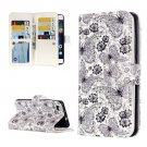 For Huawei P8 Lite Butterfly Pattern Leather Case with 9 Card Slots, Wallet & Holder