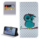 For Honor 5A Owl Pattern Leather Case with Holder, Card Slots & Wallet