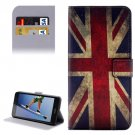 For Honor 5A UK Flag Pattern Leather Case with Holder, Card Slots & Wallet