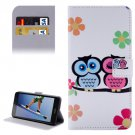 For Honor 5A Lovers Pattern Leather Case with Holder, Card Slots & Wallet