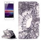For Huawei Y3 II Tree Pattern Leather Case with Holder, Card Slots & Wallet
