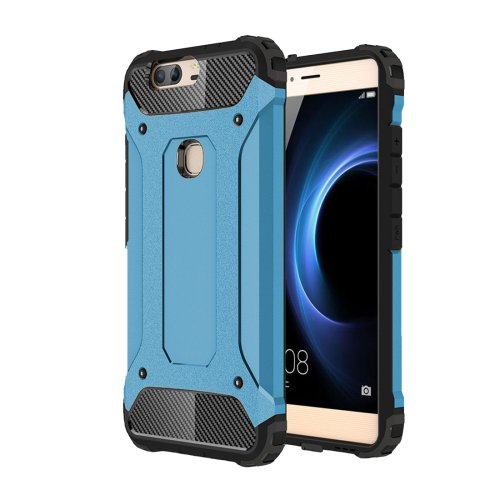 For Huawei Honor V8 Blue Tough Armor TPU + PC Combination Case