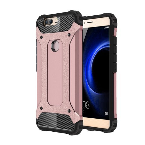 For Huawei Honor V8 Rose Gold Tough Armor TPU + PC Combination Case