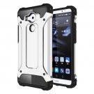 For Huawei Mate 8 Silver Tough Armor TPU + PC Combination Case