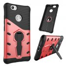 For Huawei nova Red Rotating TPU + PC Combination Case with Holder