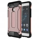 For Huawei P9 Rose Gold Tough Armor TPU + PC Combination Case