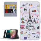 For Moto G 4 Gen Symbols Pattern Leather Case with Holder, Card Slots & Wallet