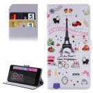 For Xperia E5 Symbols Pattern Leather Case with Holder, Card Slots & Wallet