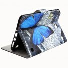 For Tab A 8.0 T350 butterfly Flip Leather Case with Holder, Card Slots & Wallet