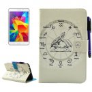 For Tab 4 7.0 Constellations Smart Cover Leather Case with Holder, Wallet & Card Slots