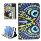 For Tab 4 7.0 Ethnic Owl Flip Leather Case with Holder, Wallet & Card Slots