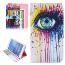 For Tab 4 7.0 Ethnic Eye Flip Leather Case with Holder, Wallet & Card Slots