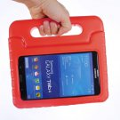 For Tab 4 7.0 Red EVA Rugged Foam Case with Handle and Holder