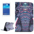 For Tab 3 Lite 7.0 Elephant 2 Sided Leather Case with Holder, Card Slots & Wallet