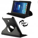 For Fonepad 7 Black Litchi Texture Flip Leather Case with Rotating Holder