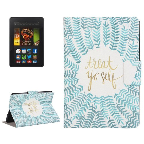 For Kindle Paperwhite 2 Branch Pattern Leather Case with Holder & Card Slots