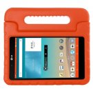For LG G Pad F 8.0 V495 Orange EVA Bumper Case with Handle & Holder
