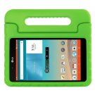 For LG G Pad F 8.0 V495 Green EVA Bumper Case with Handle & Holder
