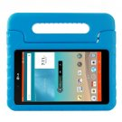 For LG G Pad F 8.0 V495 Blue EVA Bumper Case with Handle & Holder