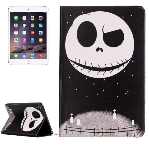 For IPad Mimi 4 Ghost Star Pattern Horizontal Flip Leather Case with Holder