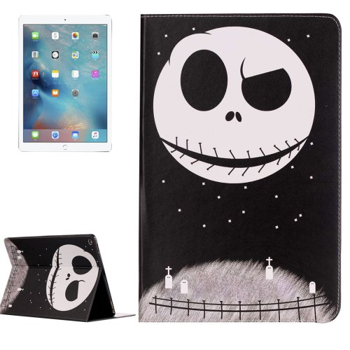 "For iPad Pro 12.9"" Ghost Star Pattern Flip Leather Case with Holder"