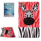 "For iPad Pro 12.9"" Zebra Pattern Flip Leather Case with Holder"